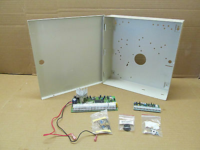 NEW DSC RES Fire Security Alarm Panel Enclosure 89S7 w/ Control Board & PC5108