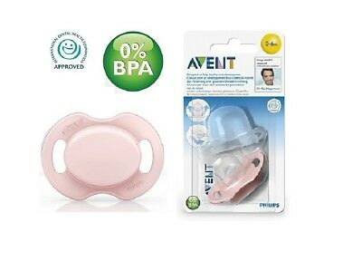 Philips AVENT Advanced Orthodontic Soother SCF184/13 (0-6 Months)- Pink