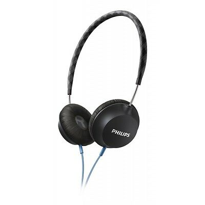 Philips Strada On Ear CitiScape Headband Headphones - Black