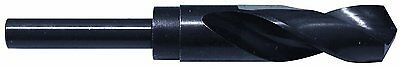 """23/32""""-1/2"""" REDUCED SHANK, SILVER & DEMING BIT, S&D, HSS, Drill for 1/2 NPT Tap"""
