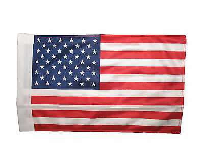 8x12 USA U.S American Star Stripes Boat Motorcycle Sleeve Car Double Sided Flag