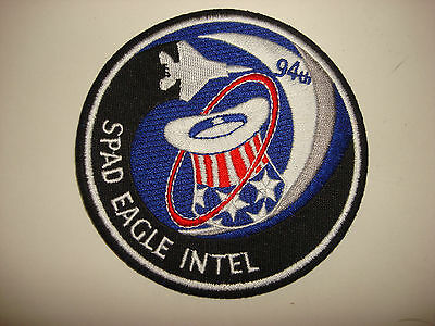 US Air Force 94th Fighter Squadron SPAD EAGLE INTEL Patch