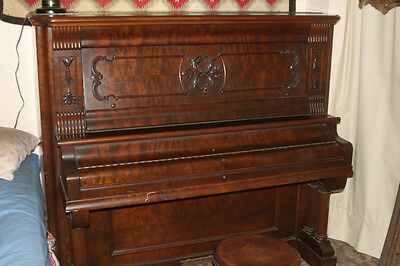 Cabinet Grand PIANO Foster & Co Upright Piano