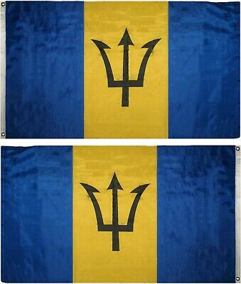 3x5 Barbados Flag 3'x5' Banner Brass Grommets