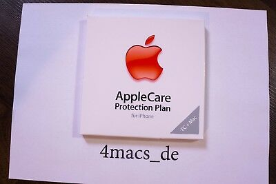 AppleCare Protection Plan iPhone X 8 +Plus 7 6 6S 5 SE Garantie Apple Care NEU