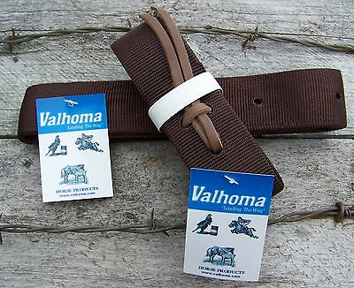 Valhoma Nylon Tie Strap & Off Billet - Brown