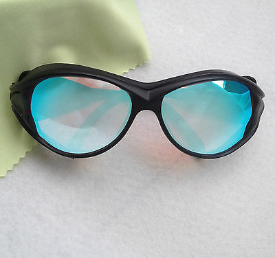 Goggles Protection Glasses 400nm-800nm for IPL Beauty Laser hair removal Black