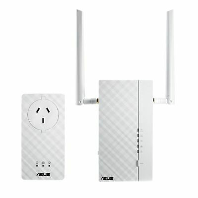 Asus PL-AC56 Kit AV1200 Wireless PowerLine Ethernet Network Adapter Extender