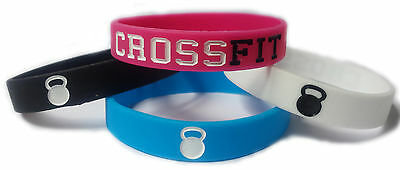 SSG 1pc New CROSS FIT Rubber Silicone Wristbands, Available in different Colours