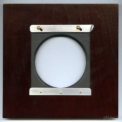"""1 ADAPTER 7.5"""" x 7.5"""" - For Linhof, or Wista boards to ANSCO/ AGFA  8x10"""" Camera"""