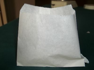 French Fry Bag, Small Fry Bag, Grease Resistant Paper; 2000/case