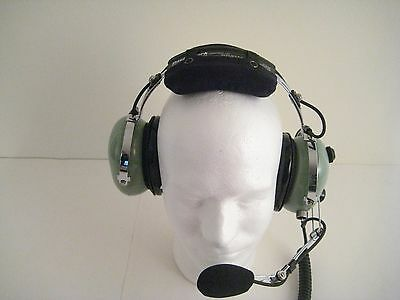 David Clark Remanufactured General Aviation Headset H10-66 with High/Low Switch