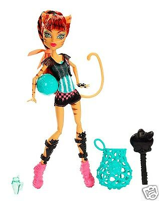 Monster High GHOUL SPORTS TORALEI DOLL NEW in HAND