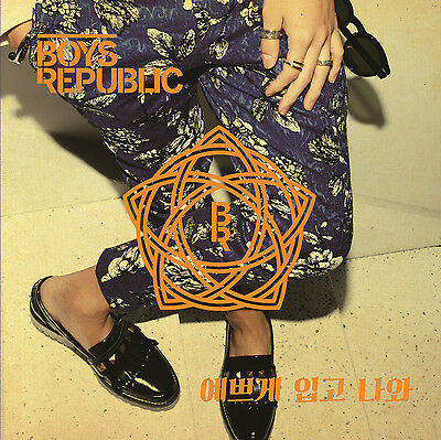 BOYS REPUBLIC - Dress Up (3rd Single) CD