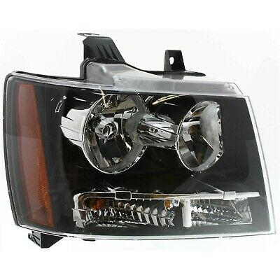 Halogen Headlight For 2007-2014 Chevrolet Tahoe Right w/ Bulb