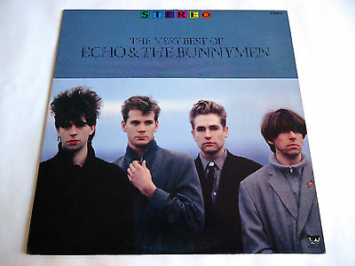 ECHO & THE BUNNYMEN The Very Best Of JAPAN PROMO ONLY VINYL LP Record PS-248