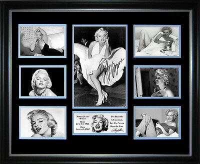 Marilyn Monroe Signed Framed Memorabilia