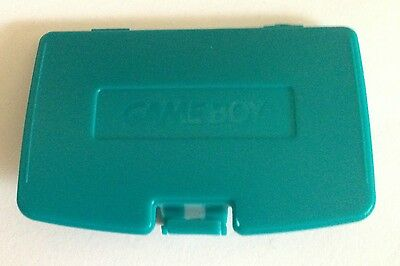 Cache Pile Bleu/Vert - NEUF - pour Game Boy Color - Gameboy GBC - Battery Cover