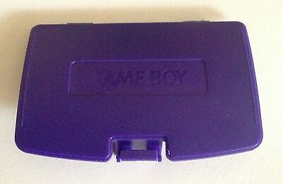 Cache Pile Violet - NEUF - pour Game Boy Color - Gameboy GBC - Battery Cover