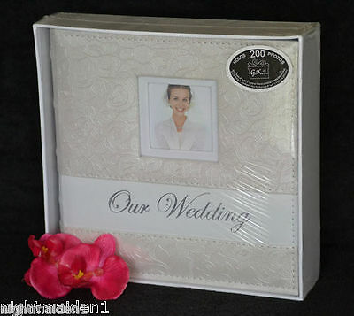 Bridal/Wedding/Engagement  Our Wedding Ivory Rose Photo Album