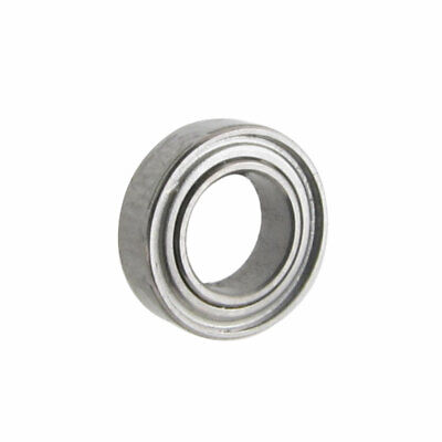 7mm x 4mm x 2mm Deep Groove Ball Bearing Silver Tone for Electric Hammer