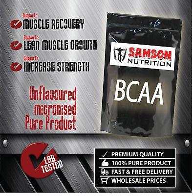 PURE BCAA POWDER 500g BRANCHED CHAIN AMINO ACIDS 2:1:1 BEST QUALITY