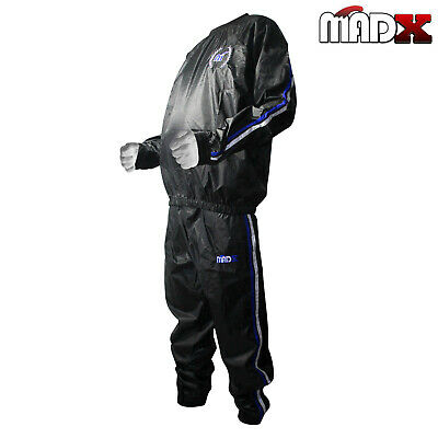 MADX Heavy Duty Sweat Suit Sauna Exercise Gym Suit Fitness Weight Loss Training