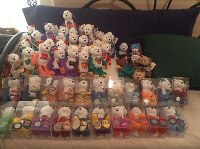 Limited Treasures Collectible State Quarter Coin Bears - All 51 States! NEW!!