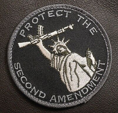 Protect The 2Nd Second Amendment Tactical Swat Velcro® Brand Fastener Patch
