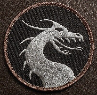 DRAGON HEAD TACTICAL USA ARMY COMBAT BADGE US MILITARY MILSPEC SWAT VELCRO PATCH
