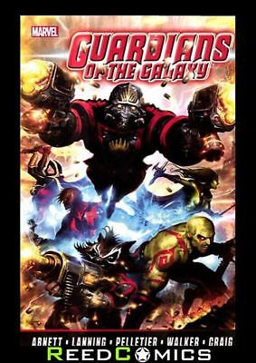 GUARDIANS OF THE GALAXY by ABNETT & LANNING COLLECTION VOLUME 1 Paperback #1-12
