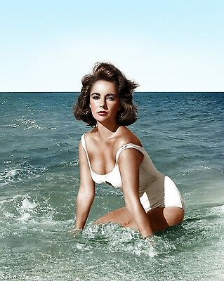 SeXy ~ Elizabeth Taylor / Swimsuit 8 x 10 / 8x10 GLOSSY Photo Picture IMAGE #4