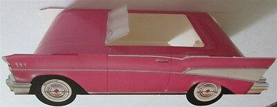 1957 CHEVROLET-Classic Cruiser Pink Chevy Convertible Pop Up-10 NOS PARTY FAVORS