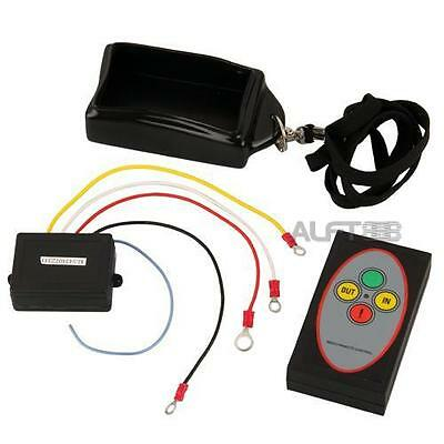 12V 50ft Wireless Remote Control Kit for Truck Jeep ATV Winch Waterproof