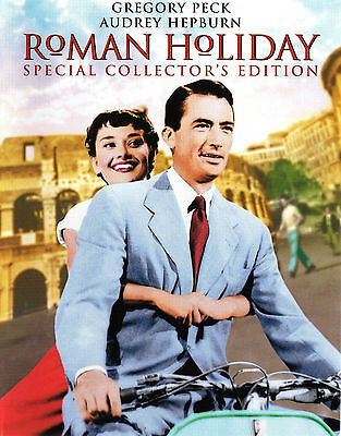 Roman Holiday - Gregory Peck Audrey Hepburn (NEW) All time Classic Must Have DVD