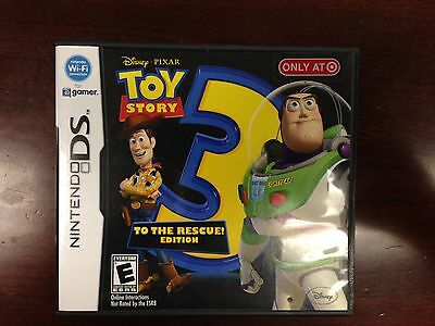 Toy Story 3: The Video Game (To The Rescue Edition)  (Nintendo DS, 2010)