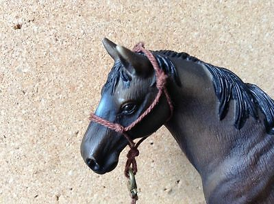 Breyer Pp/ Schleich Rope Halter And Lead, Choose Your Color, Any Size.