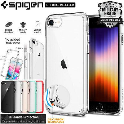 iPhone 8/7, 7/8 Plus,6S/6 Case, Genuine SPIGEN Ultra Hybrid Hard Cover for Apple