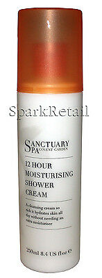 Sanctuary Spa 12 Hour Moisturising Shower Cream Body Wash Cleanser 250ml NBD