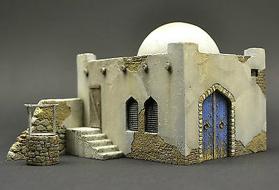 DIO72-012 Arab house 1:72 scale resin military diorama model kit building