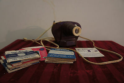 Viewmaster Junior Projector with 25 Reels & Original Box