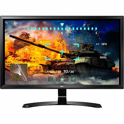 "LG 27UD58-B 27"" IPS LED UHD Gaming Monitor 5MS  4K 3840x2160 FreeSync HDMI DP"