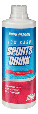 Bodyattack Low Carb Sports Drink (11,49€/L) Lowcarb Getränk  Body attack