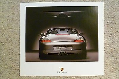 2004 Porsche Boxster S Showroom Advertising Sales Poster RARE!! Awesome L@@K