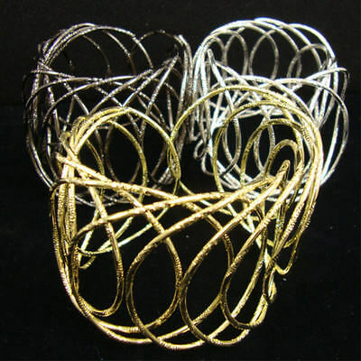 """2"""" Wide Cage Style Metal Cuff Bracelet/ Your Choice Of 3 Colors!"""