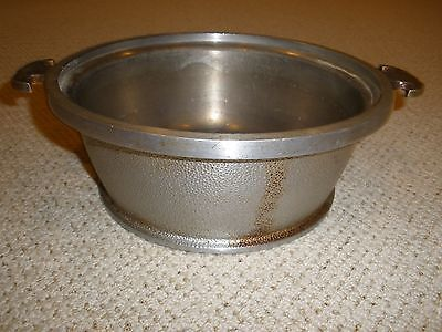 VINTAGE GUARDIAN WARE CASSEROLE POT BOTTOM ONLY NO LID WITH HANDLES