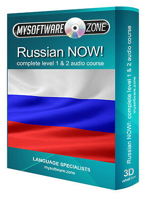 Learn to Speak Russian Fluently Complete Language Training Course Level 1 & 2