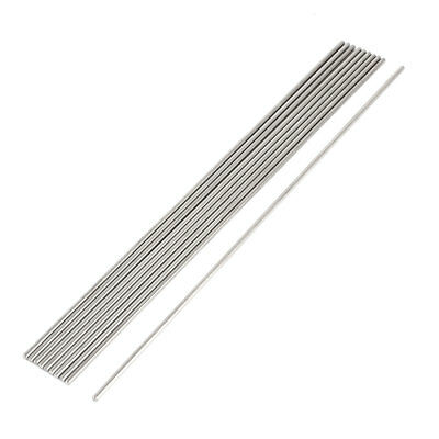 DIY Car RC Helicopter Model Stainless Steel Round Axles Rod Bar 2mmx180mm 10 Pcs