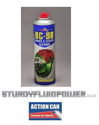 BC-90 (Action Can) 500ml - Aerosol - Brake & Clutch Cleaner/Degreaser