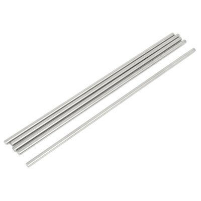 5 Pieces RC Car Toy Stainless Steel Straight Round Rods Replacement 3mmx140mm
